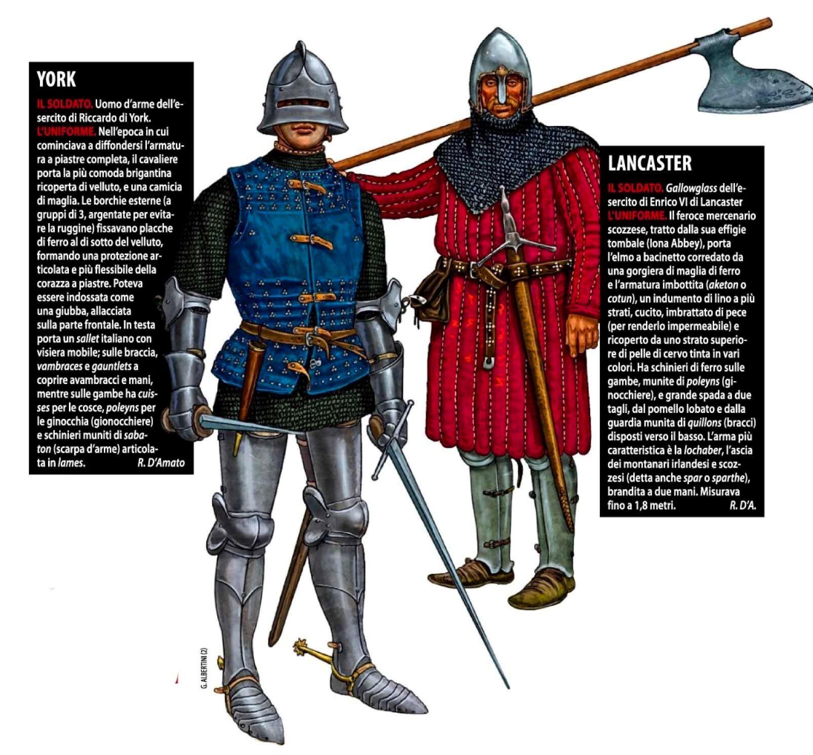 Giorgio Albertini Yorkist And Lancaster At The Battle Of St Albans 1455 Srednevekove Tampliery Vojna