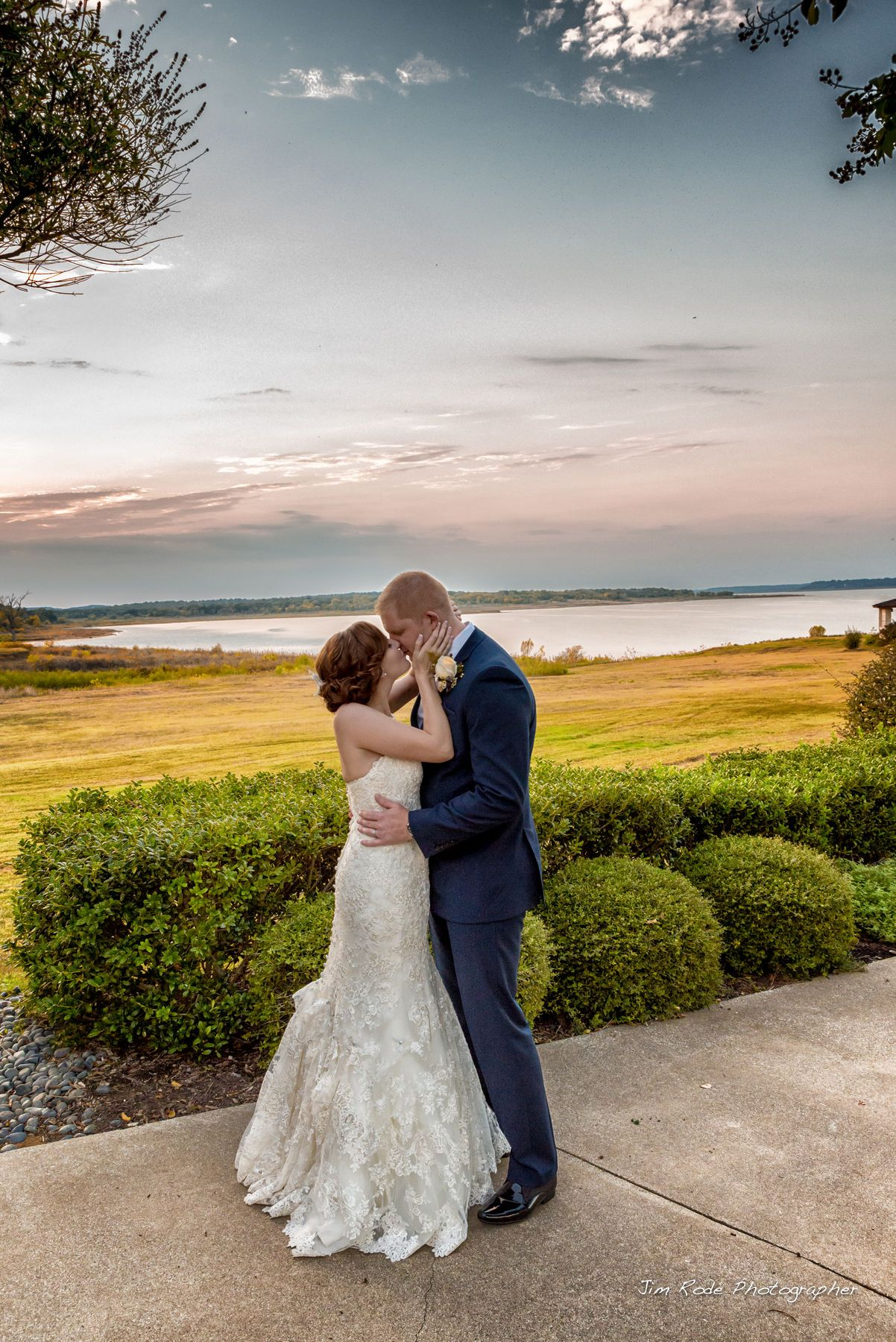 A Short Stop After The Ceremony To Kiss Before The Reception This