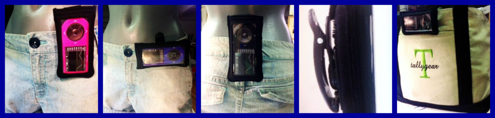 New Tallygear Neoprene G4 Clip case. Iphone