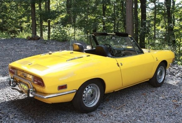 Never This Nice 1973 Fiat 850 Spider Voiture Auto Camion