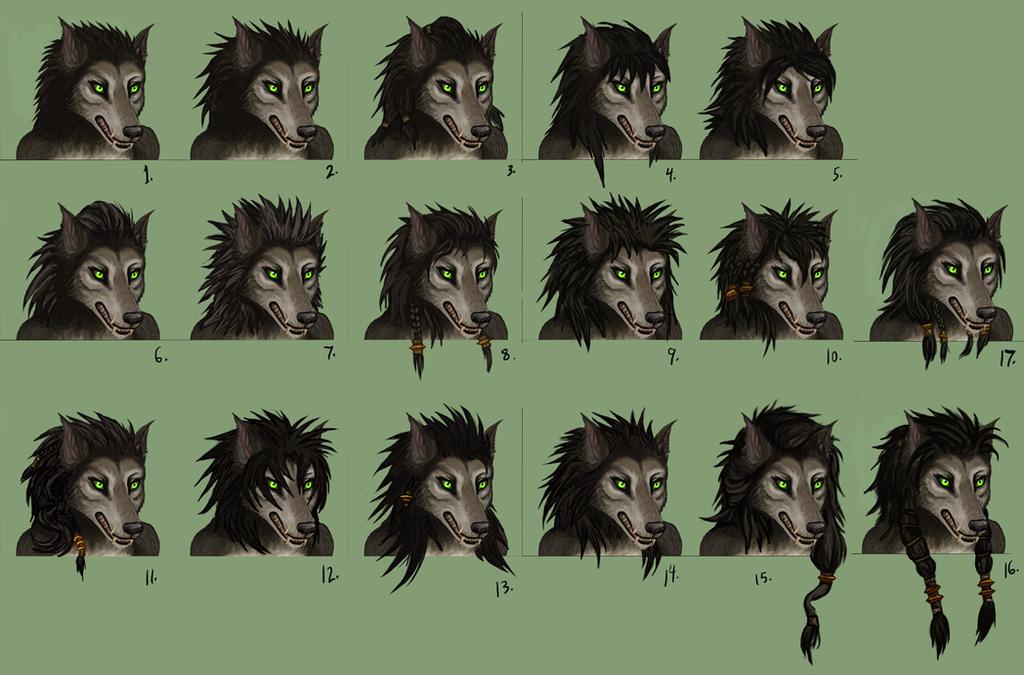 Female Worgen Hairstyles Hair Styles Female Werewolf