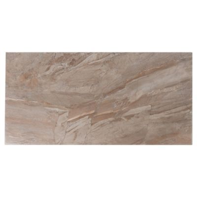 2 Sqft This Beige Regal Blaze Porcelain Tile Is 12in X