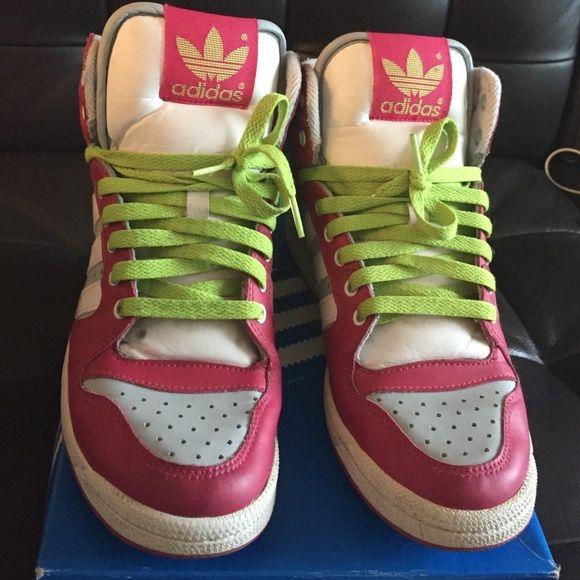 reparar China latitud  Adidas Decade high | Pink adidas, Shoes sneakers adidas, Adidas