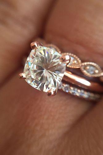 22 Most Por Rose Gold Engagement Wedding Rings Worth Having
