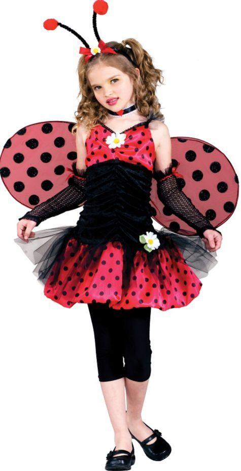 Girls Ladybug Costume - Party City | Halloween Costume Ideas ...