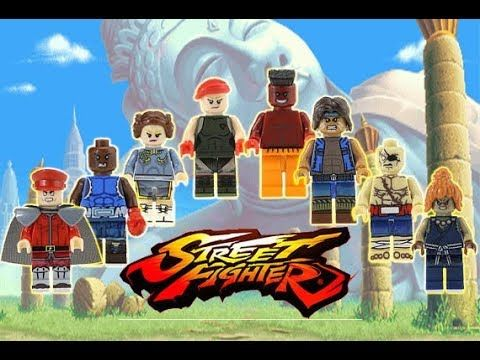 Lego - Street Fighter - knockoff minifigures review | Other ...