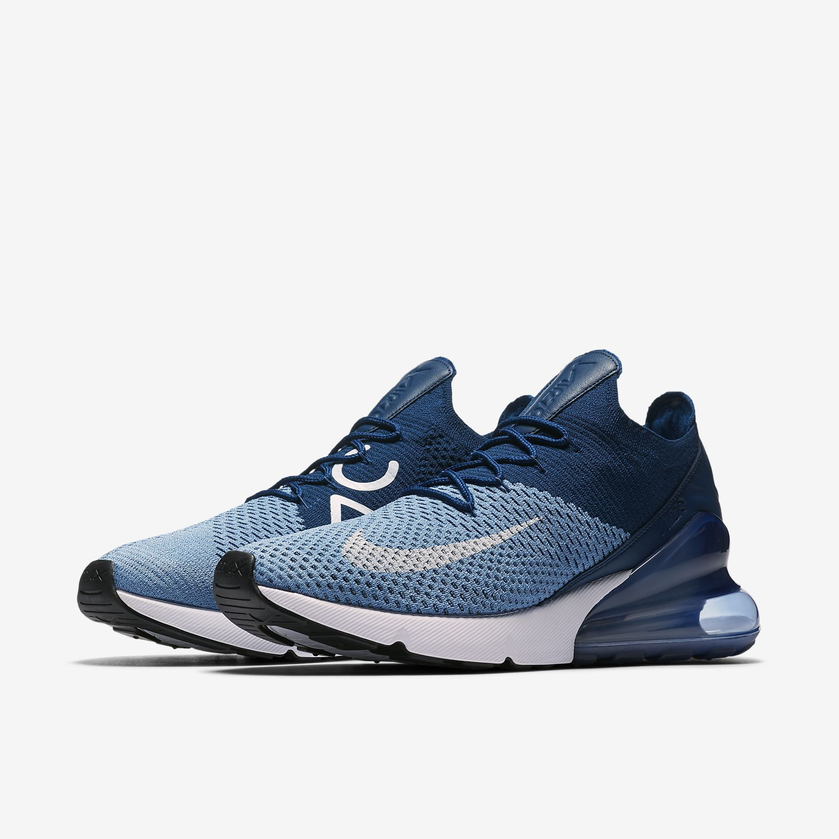 nike air max 270 midnight navy black white