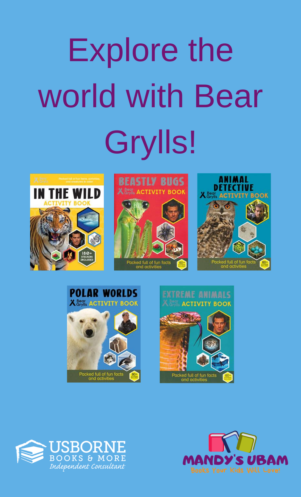 Explore The World With Bear Grylls In 2020 Book Activities Books Usborne Books