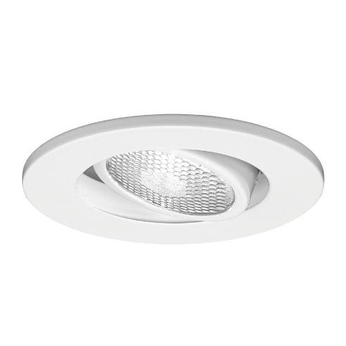 Wac Lighting R 432 4 Line Voltage Recessed Light Adjule Trim Brushed Nickel