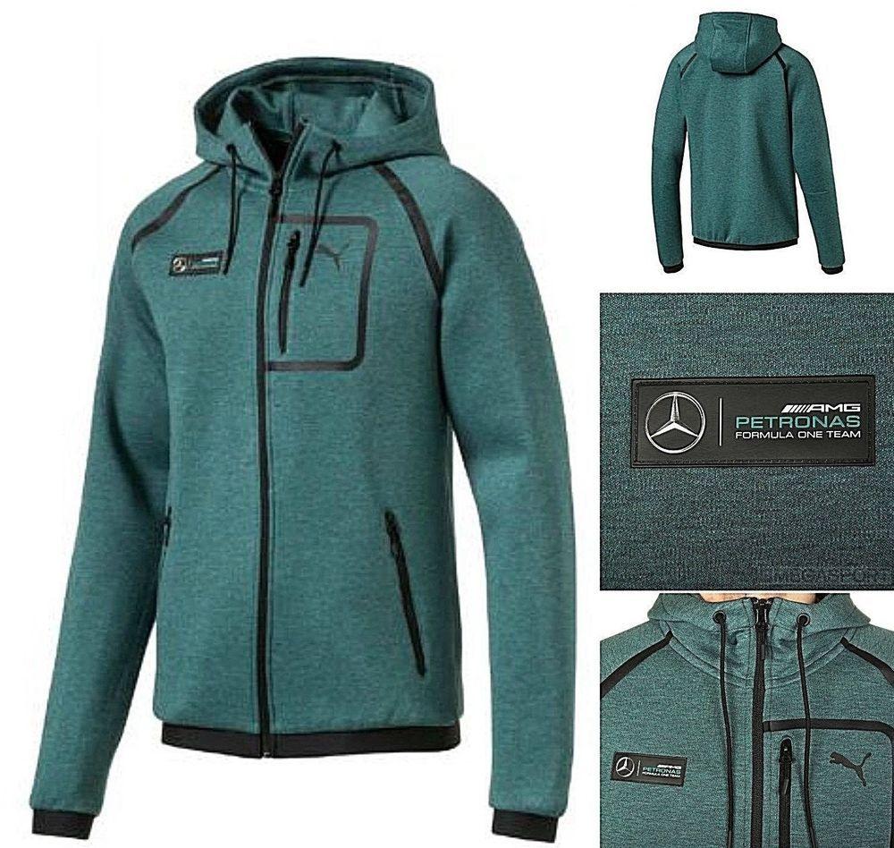 cc2015c0 2018 PUMA Mercedes Petronas MAMGP Hooded Sweat Jacket F1 Motorsport ...