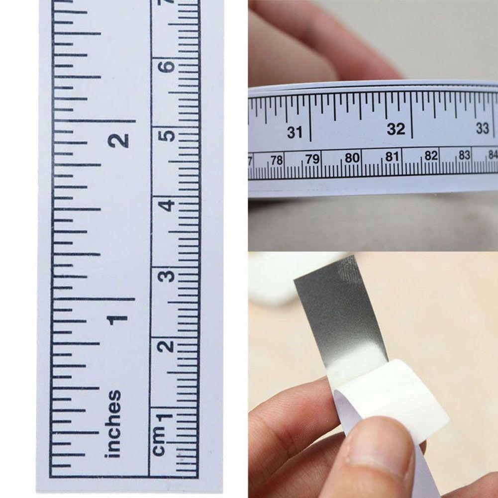 Useful Self Adhesive Sewing Machine Sticker Ruler Desk Metric Measure In 2020 Adhesive Usb Flash Drive