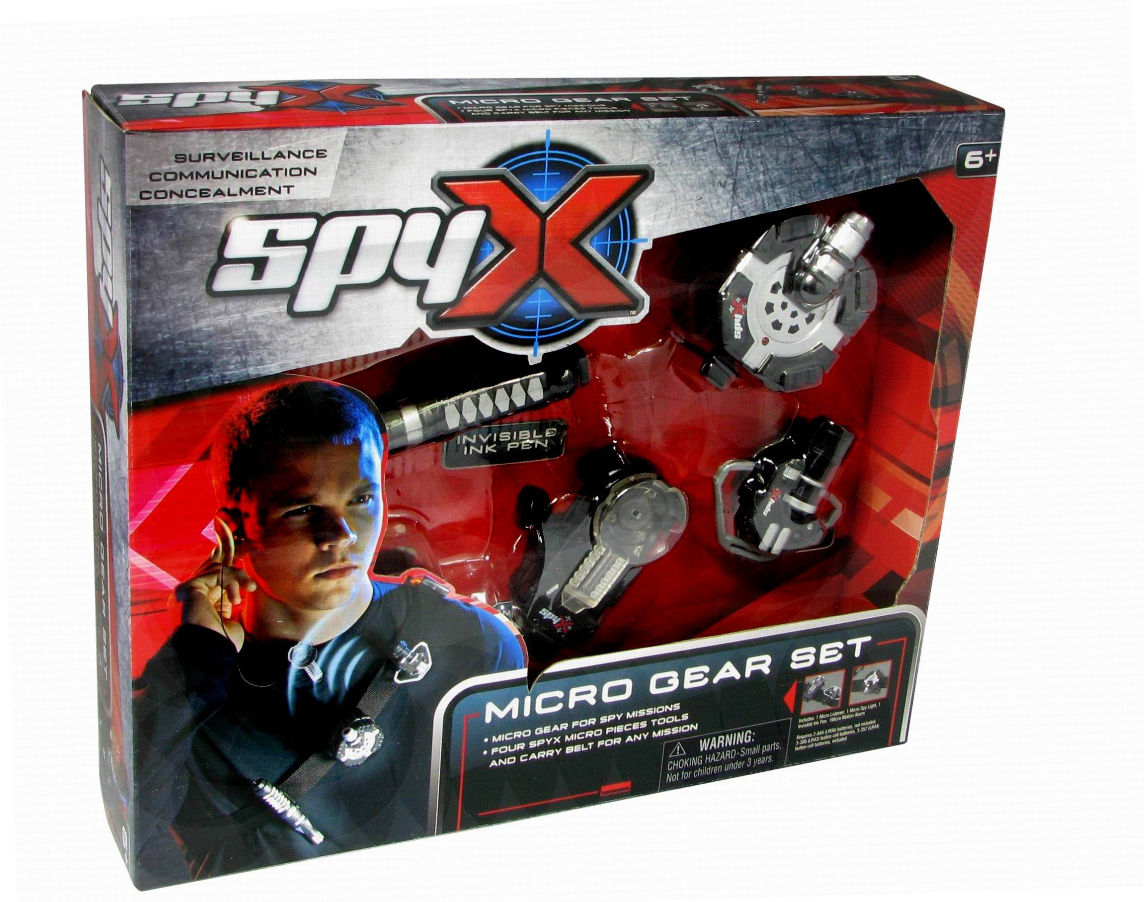 SpyX Micro Gear Set Amazon Toys & Games