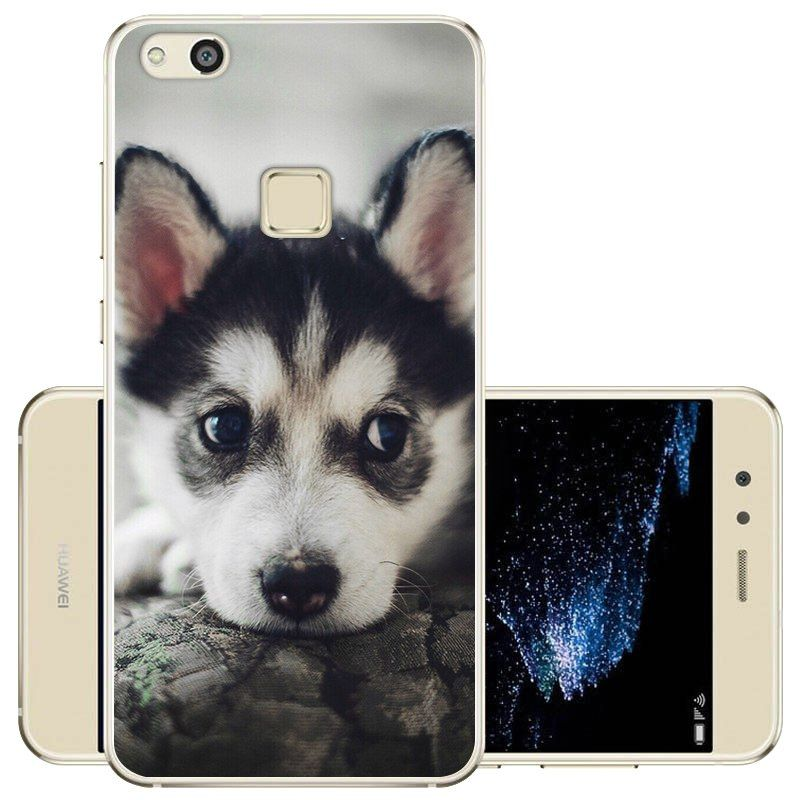 Puppy Kitty Wolf Fox Silicone Phone Case For Huawei P10 Lite ...