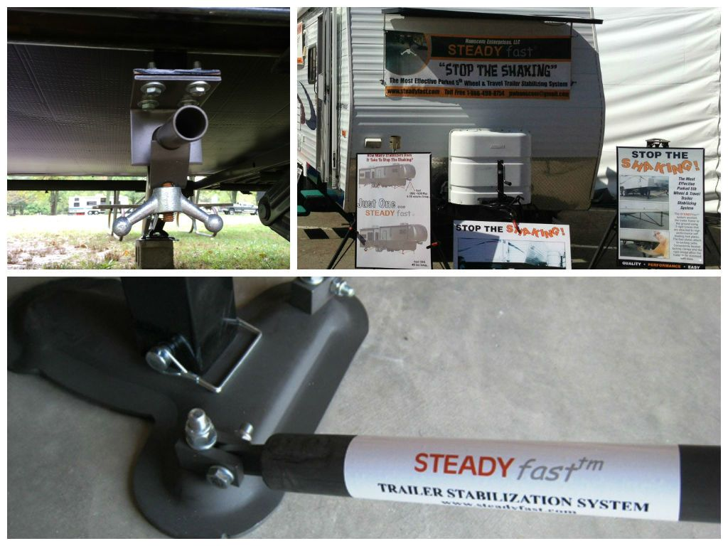 The STEADYfast® Trailer Stabilizing System: INSTALLS