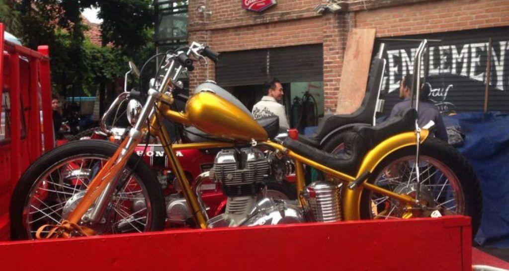 Presiden Jokowi Beli Motor Chopper Warna Emas Harganya Fantastis