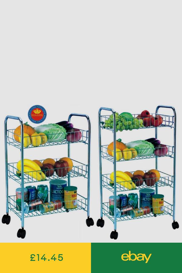 Kitchen Islands Kitchen Carts Home Furniture Diy Ebay Metal Kitchen Storage Trolley