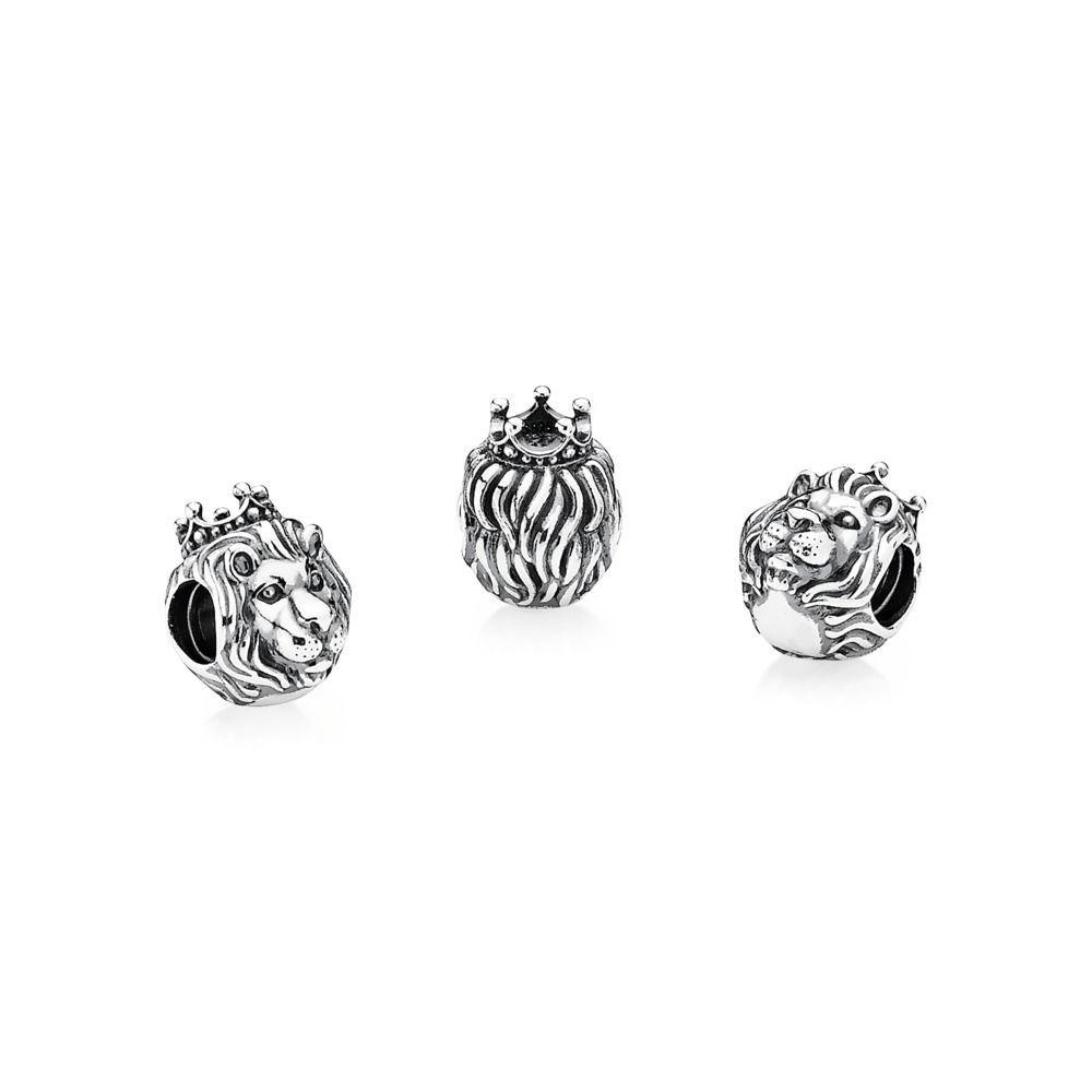 f6c866ea9 King of the Jungle Silver Lion Charm - PANDORA - PANDORA New Zeal ...