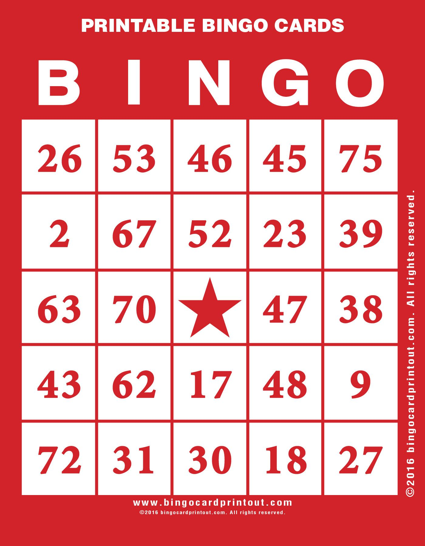 Offering Free Printable Bingo Cards In A Large Variety Of Styles Colors And Themes For Bingo Gr Free Printable Bingo Cards Bingo Printable Bingo Card Template