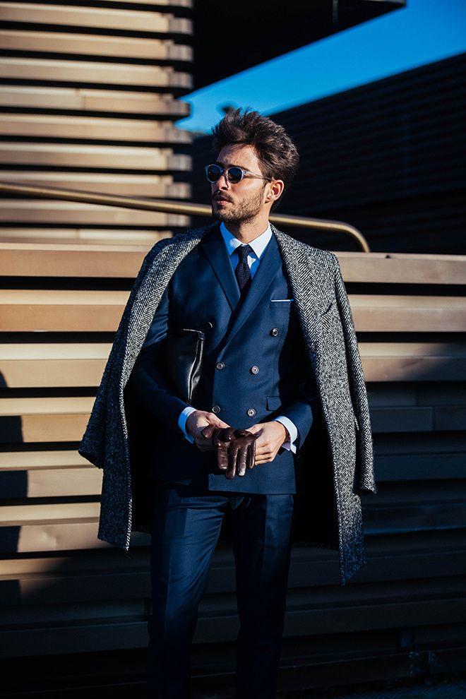 Street looks à la Fashion Week homme automne-hiver 2017-2018 au
