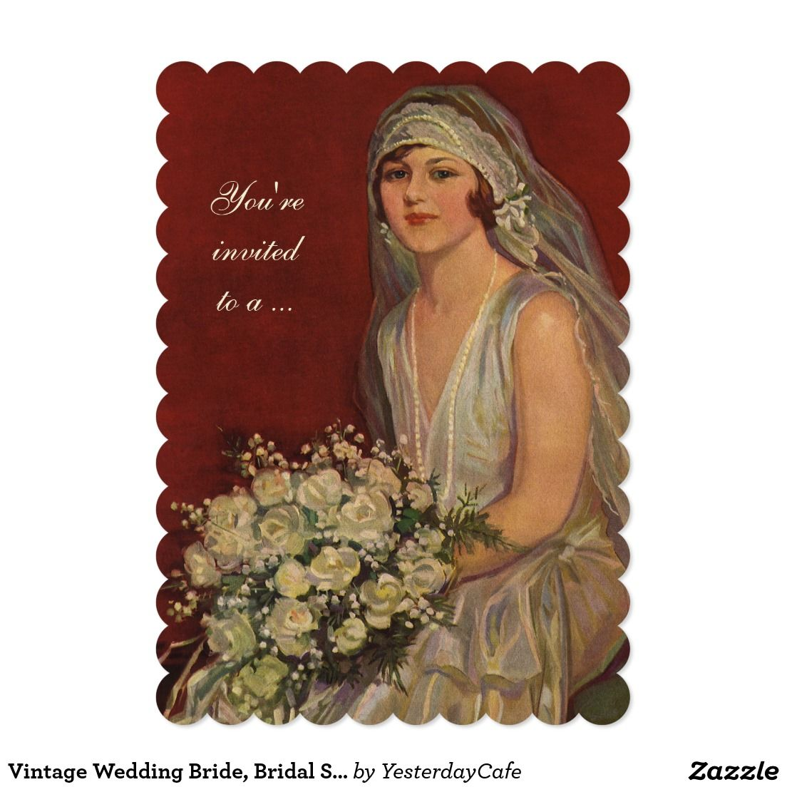 Beautiful Zazzle Wedding Shower Invitations Collection - Invitations ...