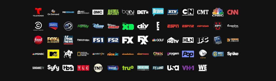 Streaming Services Comparison Chart Playstation Vue Streaming Chart