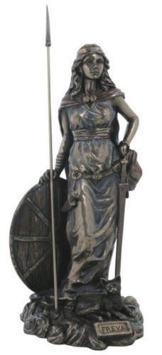 Freyja Damen T-Shirt Walhalla Odin Thor Odin Wikinger Vikings Nordische Göttin