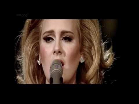 Adele At The Royal Albert Hall Make You Feel My Love Youtube