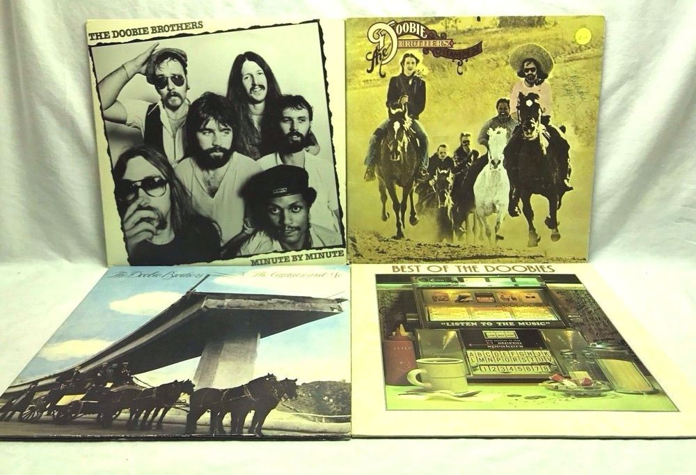Doobie Brothers Vinyl Record Lot Best Of Sealed Captain And Me
