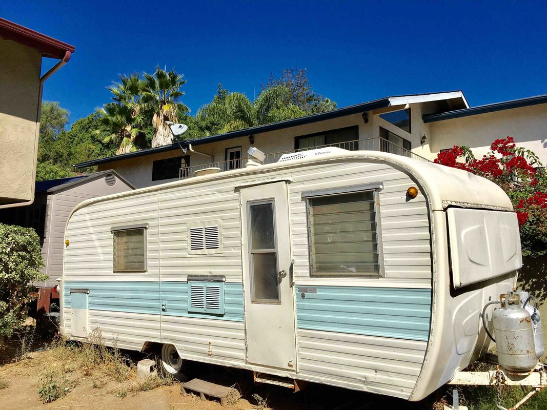 Rv Campers For Sale Near Me >> Vintage Camper Trailers For Sale 1963 Kencraft 22' Sleeps 6, bathroom and shower, full kitchen ...