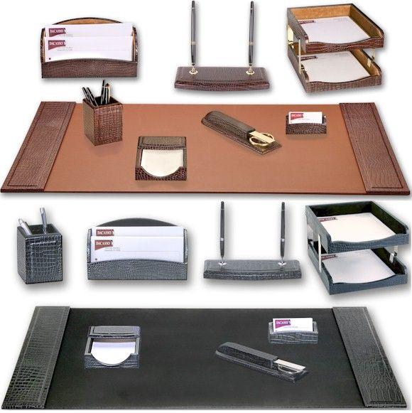 مستلزمات طاولة المكتب إكسسوارات مكاتب ادوات مكتب جلدية ادوات طقم أدوات المكتب Desk Accessories Office Office Desk Desk Accessories