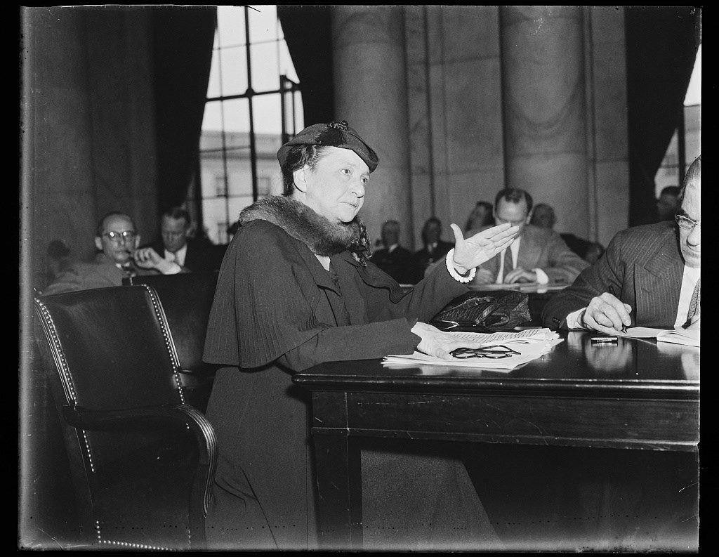 The First Woman To Serve In Cabinet, Frances Perkins,