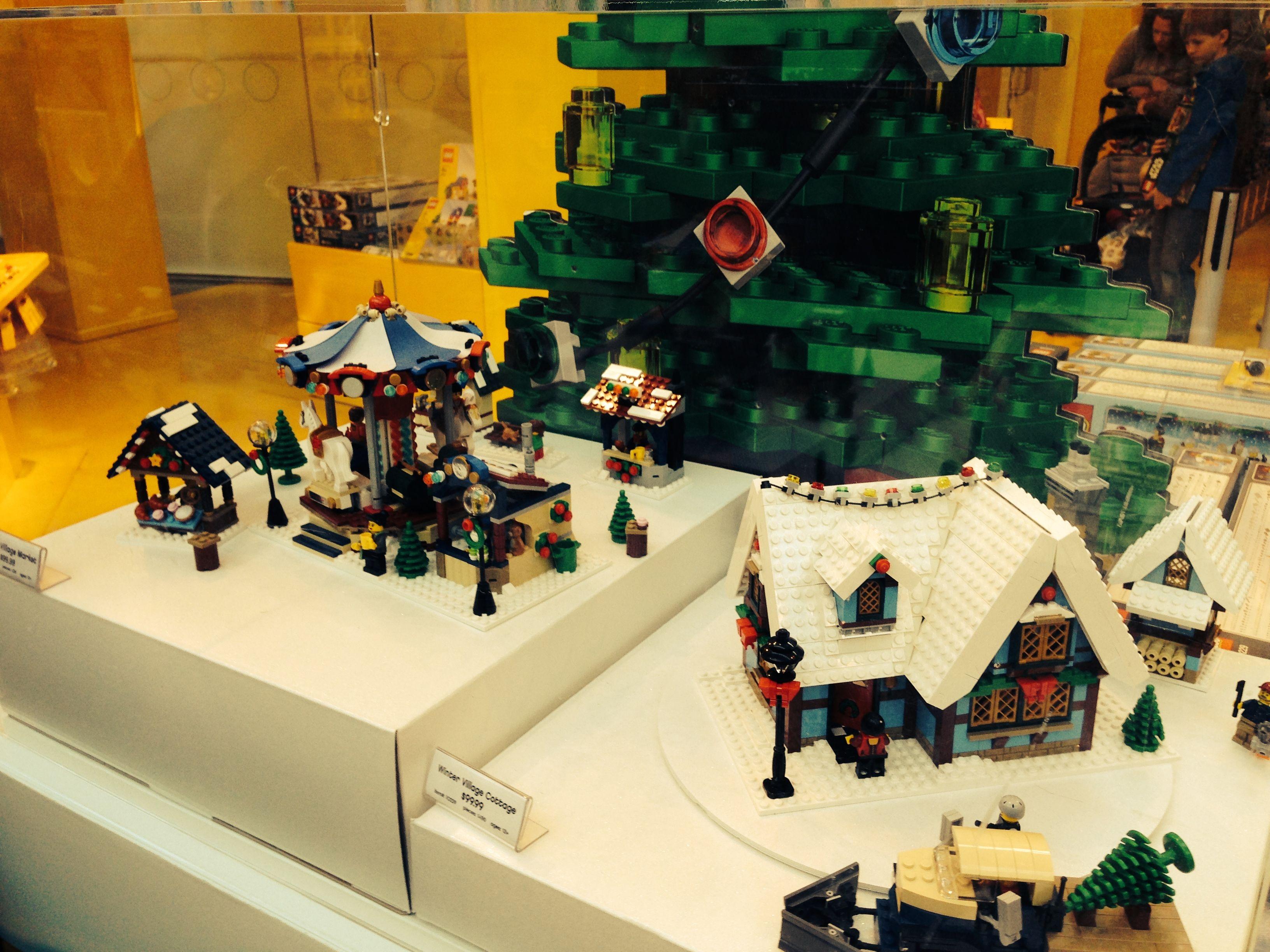 Snow village at Lego Land Mall of America Minneapolis, MN