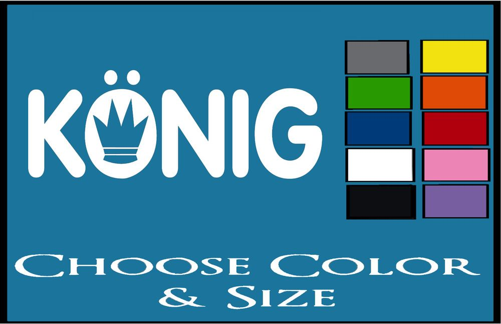 KONIG STICKER \