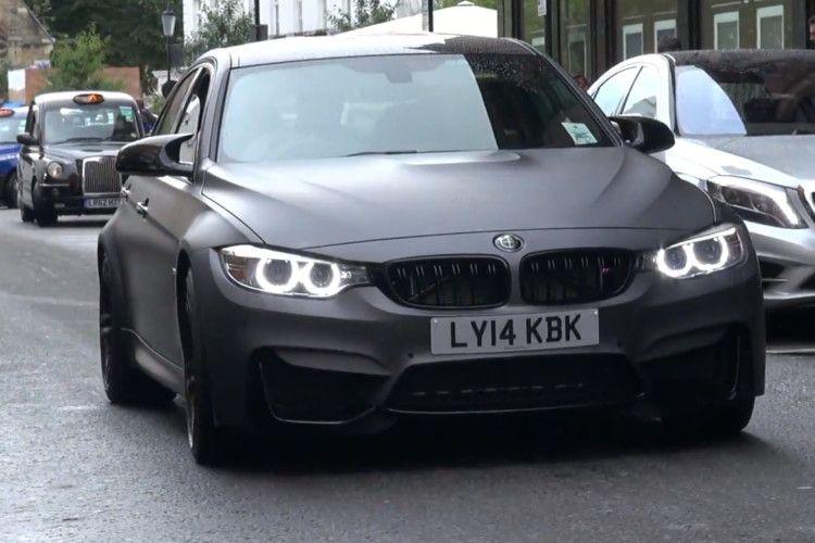 BMW M3 F80 Frozen Grey Folierung Grau Matt London Gumbal Video 1