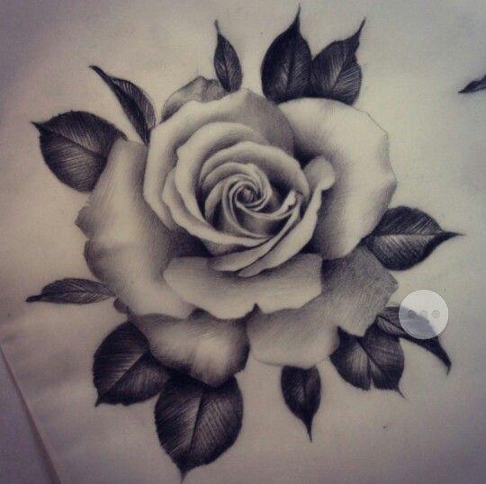 Pin By Kristen Steele On Tattoos Piercings Realistic Rose Tattoo Realistic Rose Tattoos