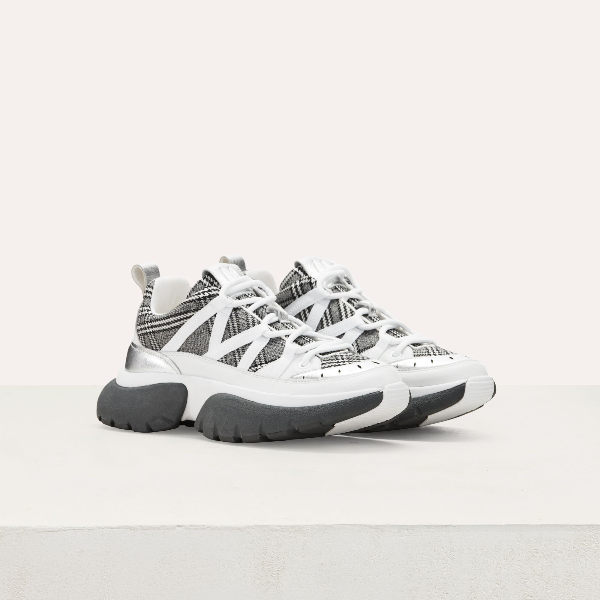 new product 14f13 d3792 Maje W20 Sneakers - FASTER multico