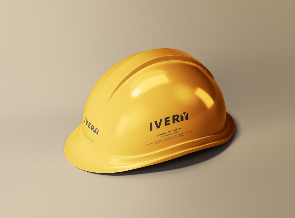 Construction Helmet Mockup Free Mockup Mockup Psd Mockup Free Psd