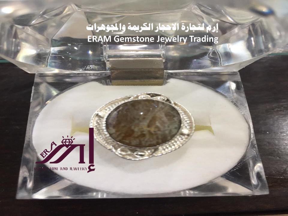 خاتم عقيق يمني نسائي دوادي طبيعي 100 Agate Gemstone Jewelry Gemstones Jewelry