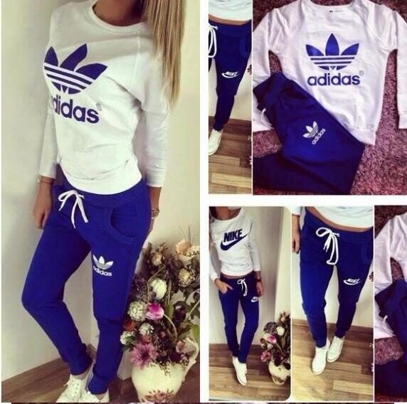 [22.90] Adidas tracksuit 2016 Autumn winter new high-end women brand hoodies  fashion