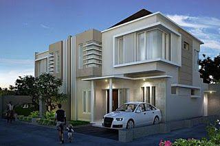 gambar desain rumah minimalis mewah 2 lantai - rumah