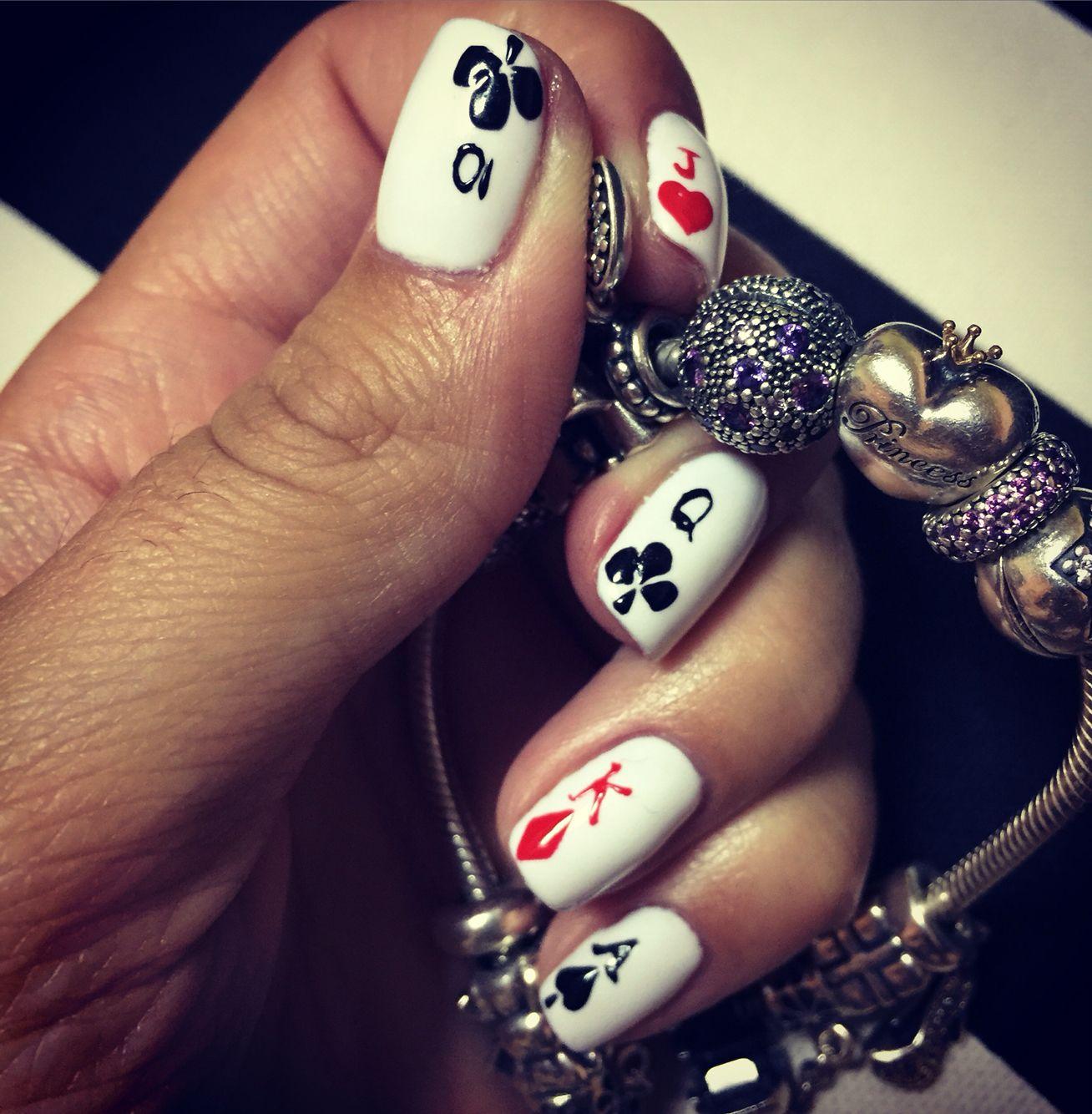 Playing cards ... Poker, Casino ❤ ♧ ♢ ♤ | Nails design/Art ...