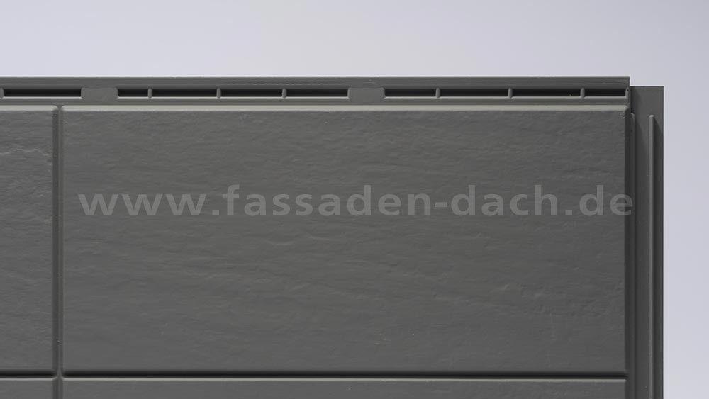 Kaufe Zierer Fassadenplatten Terra Gfk Steingrau Von Zierer Fassadenplatten Fassadenverkleidung Fassade