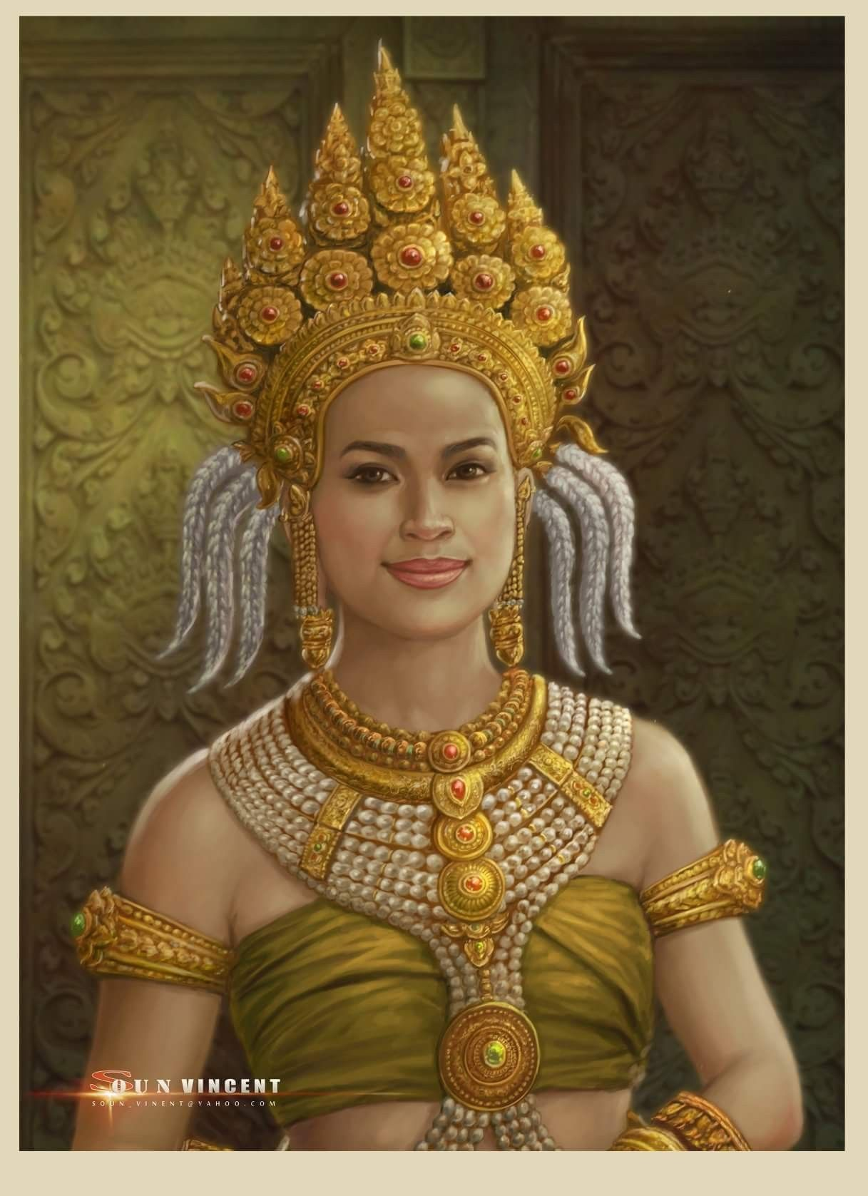 khmer apsara pictures - HD1217×1677