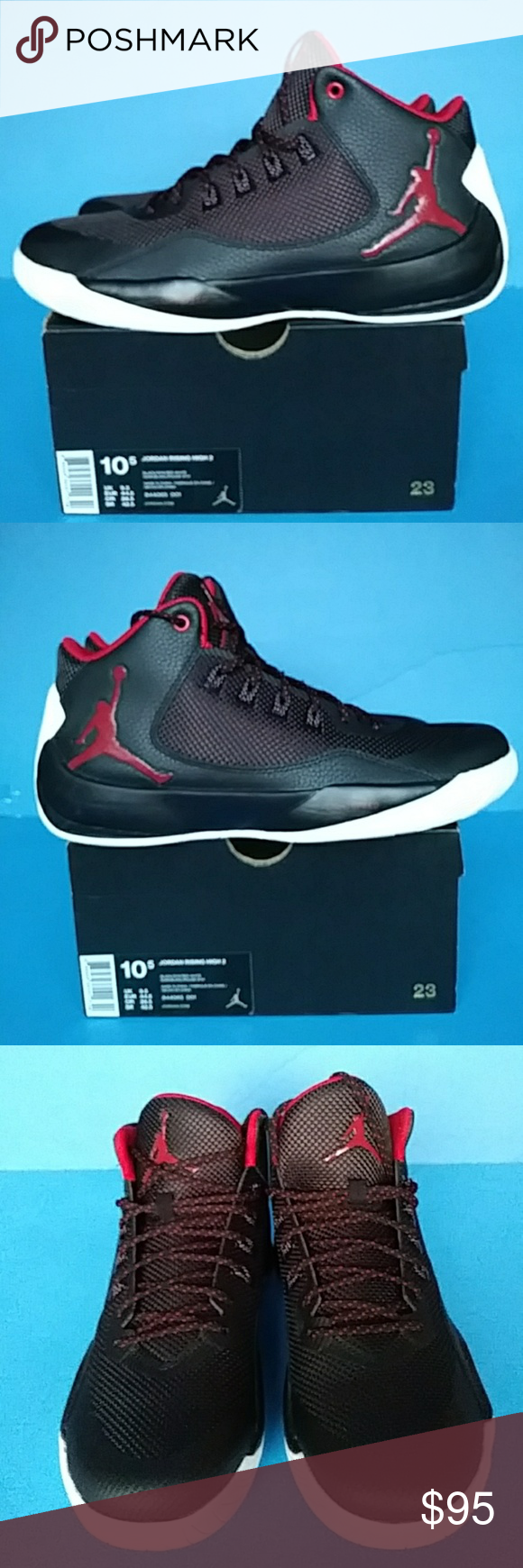 Men's Sneaker Brand Jordan Rising 100 Air Authentic New qFUp4
