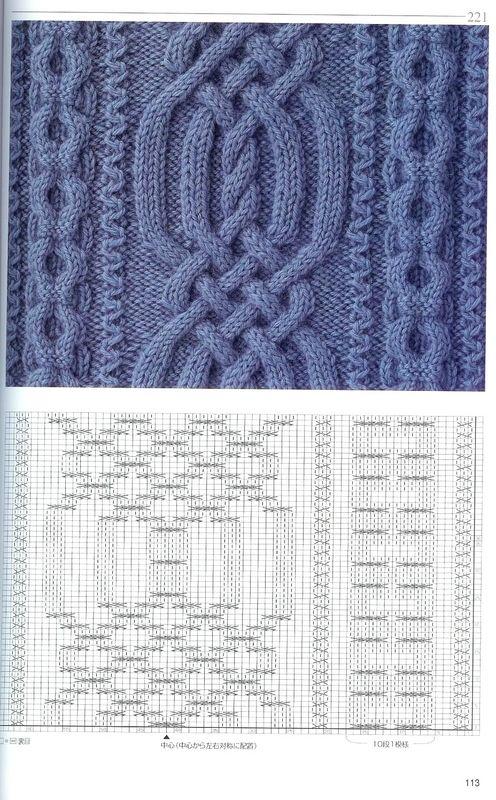 1-2.jpg (496×800)   puntadas   Pinterest   Knitting ideas, Knit ...