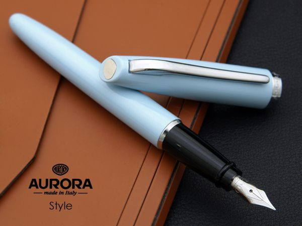 ... Vintage Aurora Fountain Pen Made in Italy 1970's Series Marco Polo