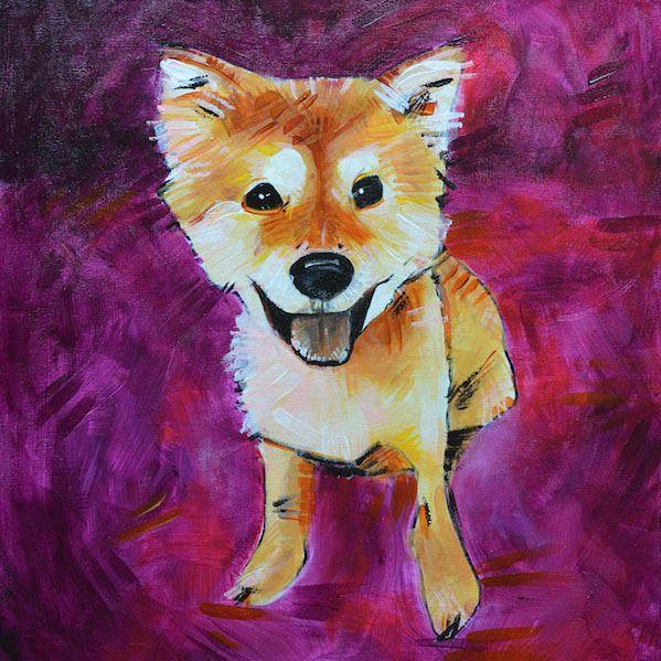 Custom Pet Portrait by Sarah Greenman