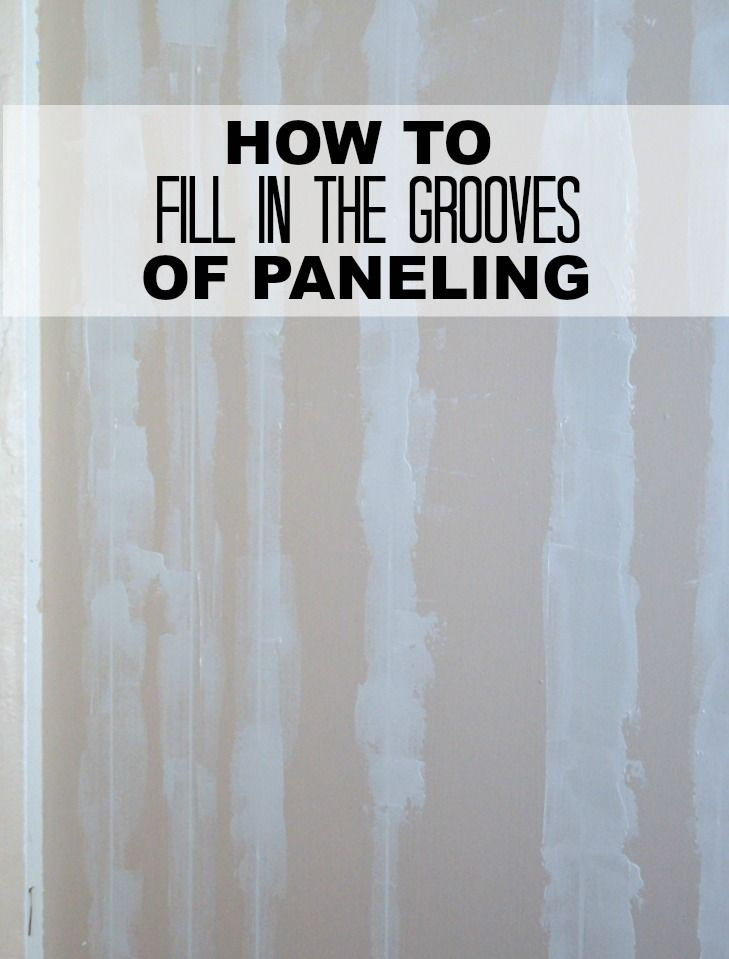 Filling Grooves In Paneling Smooth Learning And Walls