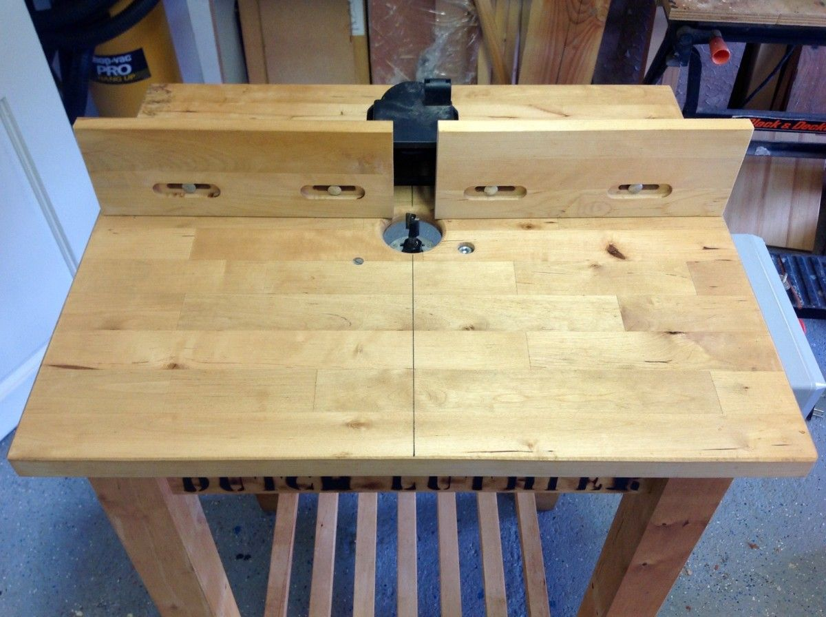 Diy router table fence - Bekv M Diy Router Table