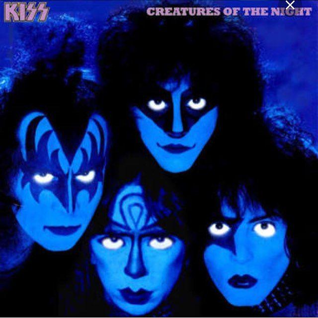 Tlinta e tles anos esta noite #creaturesofthenight #kiss #rock by marcellasobral